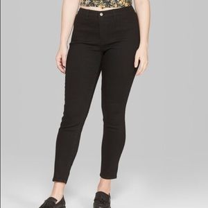 Wild Fable Women's High-Rise Skinny Jeans - Black